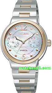 CITIZEN Wicca Eco-Drive Ladies Collection FD1025-56D