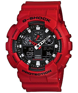 CASIO G-Shock Three Dial Face World GA-100B-4B