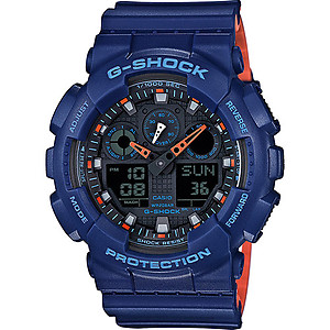 CASIO G-Shock Three Dial Face World GA-100L-2A