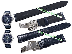 SEIKO PRESAGE 20mm Genuine Leather for SRPC01, SSA361 Code:L0HE014J0 Color: Blue