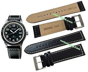 SEIKO 22mm Genuine Calf Leather Strap for SRPB61 Code:L0HF011J1