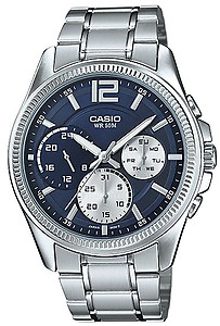 CASIO Multi-Hand Gents Collection MTP-E305D-2AV