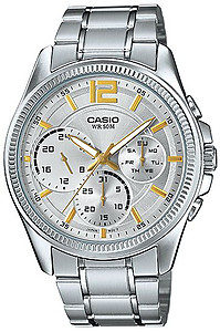 CASIO Multi-Hand Gents Collection MTP-E305D-7AV