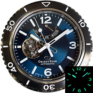 ORIENT STAR Semi Skeleton 200M Mechanical Power Reserve RE-AT0104E