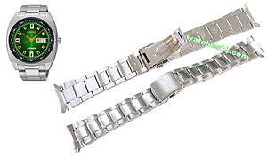 SEIKO 24mm solid stainless steel bracelet for SNKM98K1 CODE: M0GKA38K0