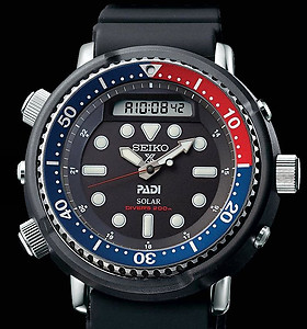 SEIKO Prospex Solar Arnie Re-Issue PADI Edition SNJ027P1