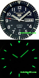 SEIKO 5 Sport 100M Automatic Military Collection SNZG11K1