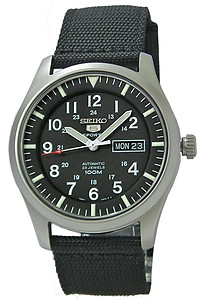 SEIKO 5 Sport 100M Automatic Military Collection SNZG15K1