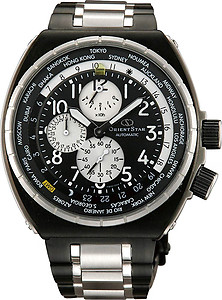 ORIENT STAR Sky Sport GMT World-Time Collection WZ0021FZ