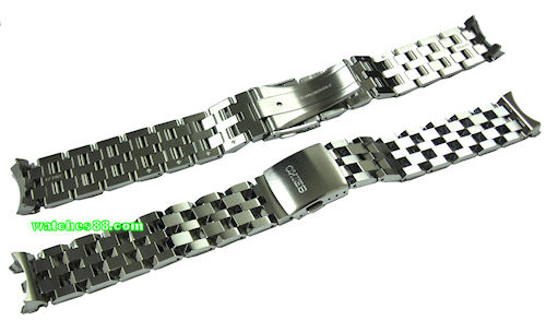 Seiko Solid Stainless Steel Bracelet For Snm001 Snm003 Snm005 Snm007