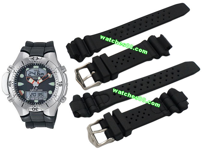f859bdf1c watches88. Citizen Promaster Aqualand III Diver rubber strap Code: 59-G0243