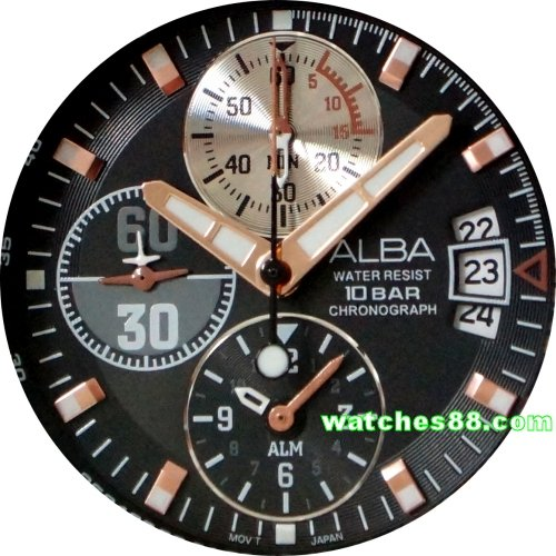 ALBA Flagship Collection Alarm Chronograph AF3F03X