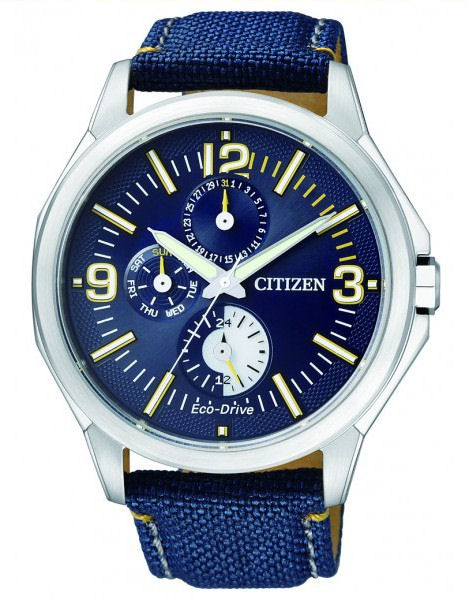 CITIZEN Eco-Drive Gents Multi-Dial Dress Collection AP4000-15L