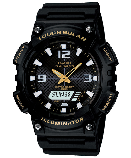 CASIO TOUGH SOLAR Analog-Digital Combination AQ-S810W-1BV