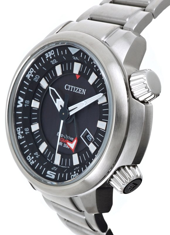 CITIZEN Eco-Drive Promaster Land GMT 200M BJ7081-51E