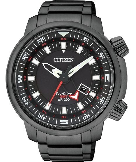 CITIZEN Eco-Drive Promaster Land GMT 200M BJ7086-57E