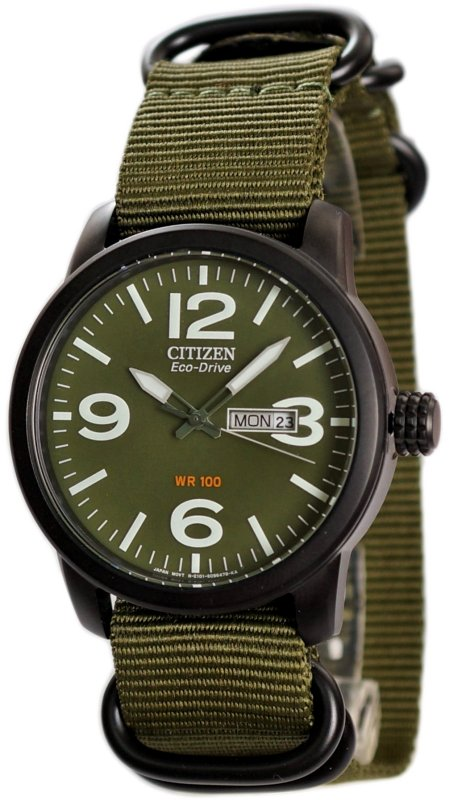CITIZEN Eco-Drive Gents Military Dress Collection BM8475-00X2