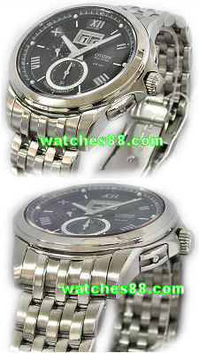 Citizen 21mm original stainless steel bracelet for Eco-Drive Perpetual Calendar BT0001 Code : 59-S002883