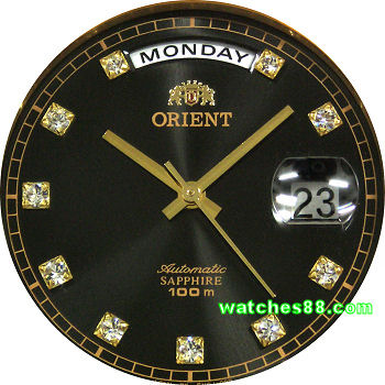ORIENT Oyster Automatic Sapphire Collection SEV0J002B