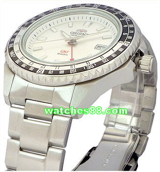 Orient original 22mm solid stainless steel bracelet for CFE06001B, CFE06001W.