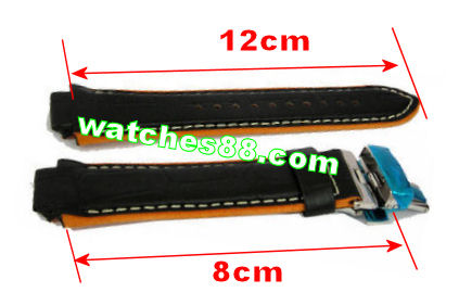 ORIENT 20mm Genuine Leather for CFM00003B Code: QUDDBASB Color: Black
