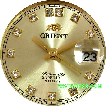 ORIENT Oyster Ladies Automatic Sapphire Collection FNR16001G