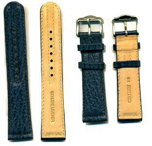 Citizen Leather Strap 20mm - Blue Color