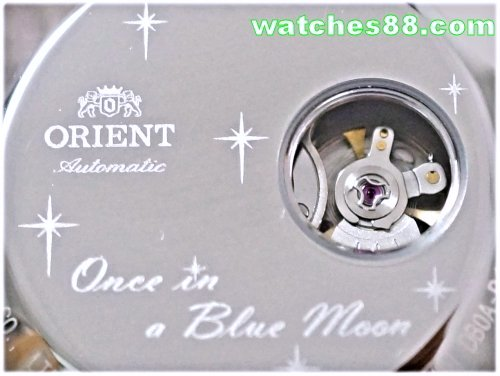 ORIENT Blue Moon Fashionable Automatic Happy Stream Collection - Open Heart FDB0A007B
