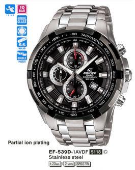 6037bf58e Casio Edifice Chronograph 100M EF-539D-1AV