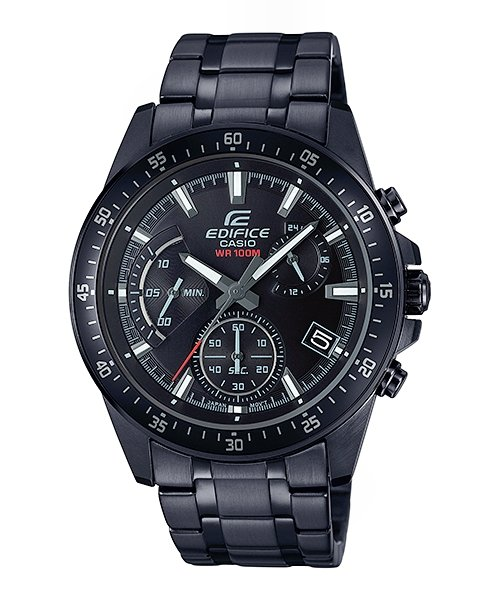 CASIO Edifice Black Series Chronograph 100M EFV-540DC-1AV