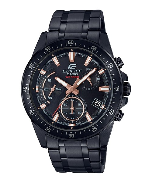 CASIO Edifice Black Series Chronograph 100M EFV-540DC-1BV