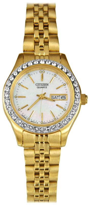 CITIZEN Quartz Ladies Crystal Collection EQ0536-54D