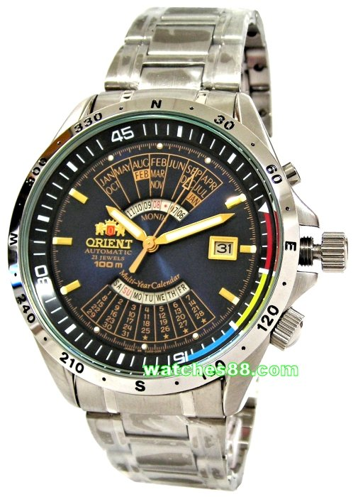 8b9a82ffe watches88. ORIENT Automatic Multi-Year Calendar EU03002D