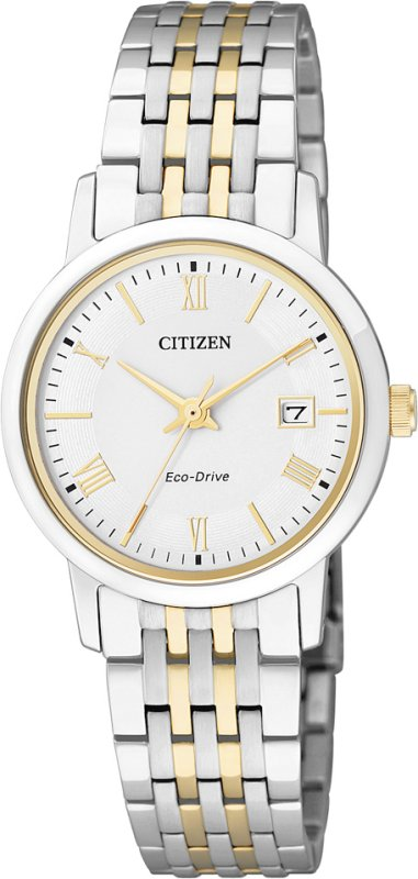 CITIZEN  Eco-Drive Ladies Sapphire Crystal Collection EW1584-59A