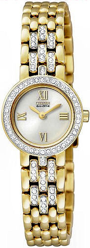 CITIZEN Eco-Drive Ladies Swarovski® Crystal Collection EW9802-56A