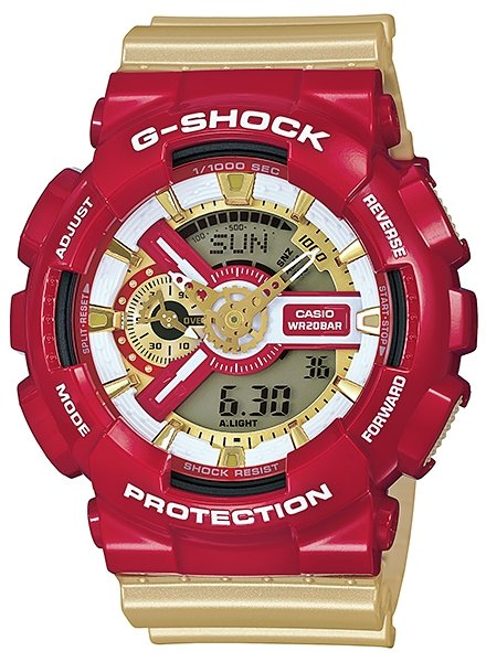 CASIO G-SHOCK Garish Collection GA-110CS-4A