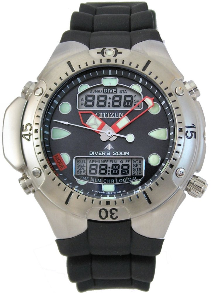 e188b0721 CITIZEN AQUALAND III JP1060-01L. CITIZEN PROMASTER Sea Collection  Professional diver's ...