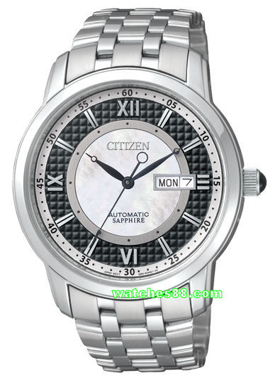 Citizen Sapphire Mechanical Gents Collection NH8305-53E