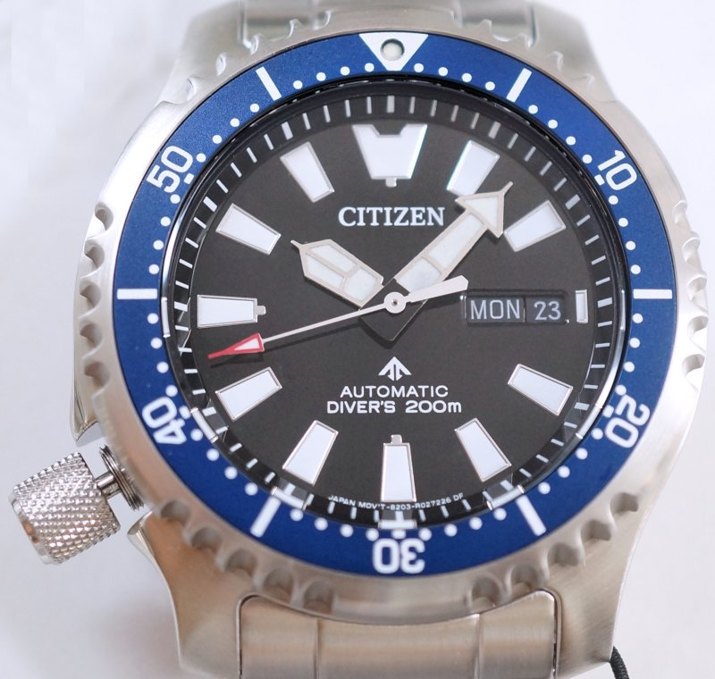 CITIZEN PROMASTER Fugu Limited Edition Diver's 200m Automatic NY0098-84E