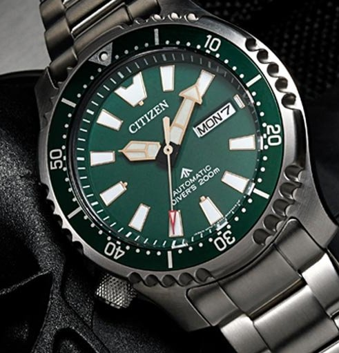 CITIZEN PROMASTER Fugu Limited Edition 1989pcs Diver's 200m Automatic NY0099-81X