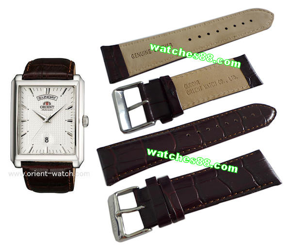 ORIENT 25mm Genuine Leather for FEVAF005W