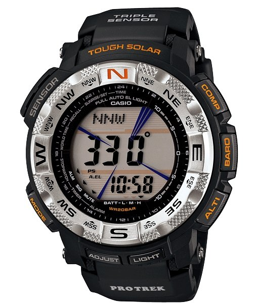 CASIO Protrek Tough Solar Triple Sensor PRG-260-1DR