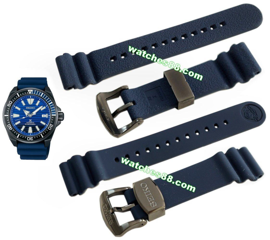 SEIKO 20mm Genuine Silicone Diver's Strap for SRPD09K1 Code: R02F014N0