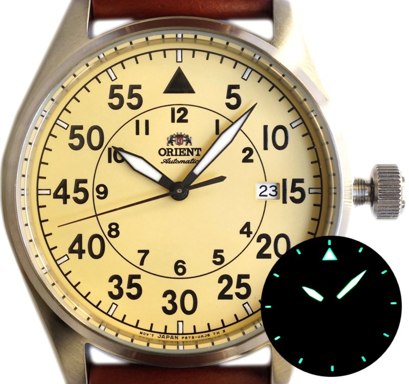 ORIENT Flight Sporty Automatic RA-AC0H004Y