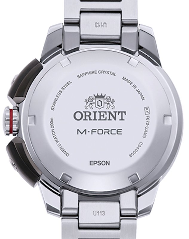 ORIENT M-FORCE 70th Anniversary Diver's Automatic 200M RA-AC0L01B