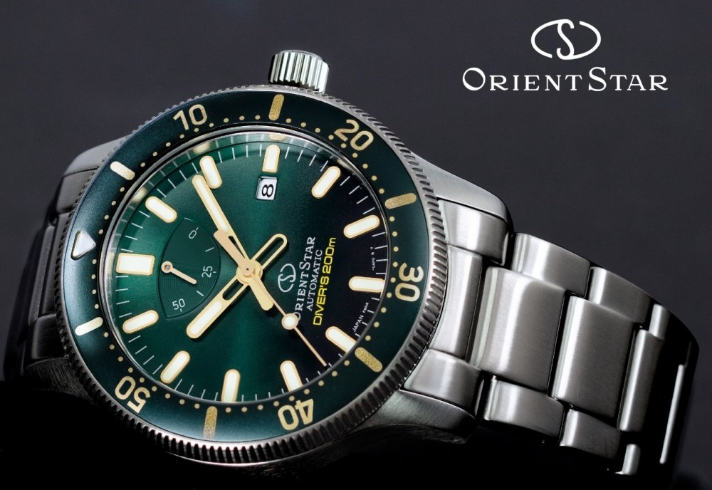 ORIENT STAR Diver's 200M Mechanical Power Reserve RE-AU0307E
