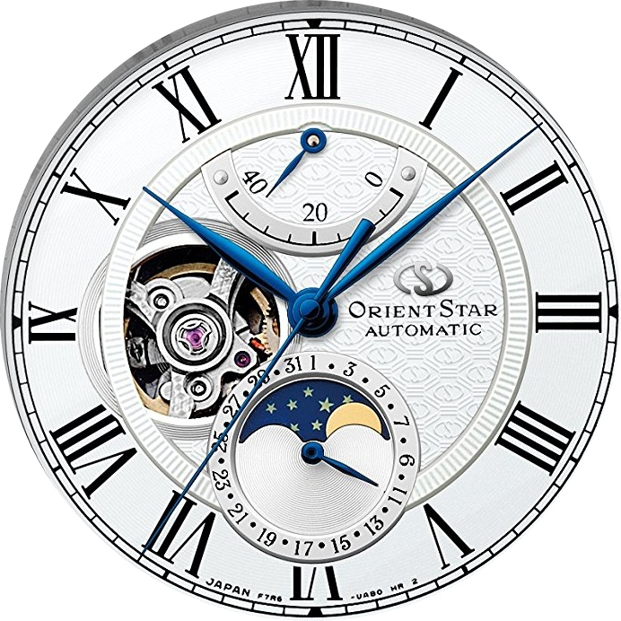 ORIENT STAR Mechanical Moon Phase RK-AM0001S