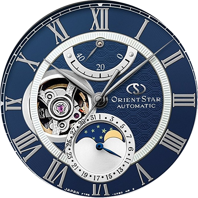 ORIENT STAR Mechanical Moon Phase RK-AM0002L
