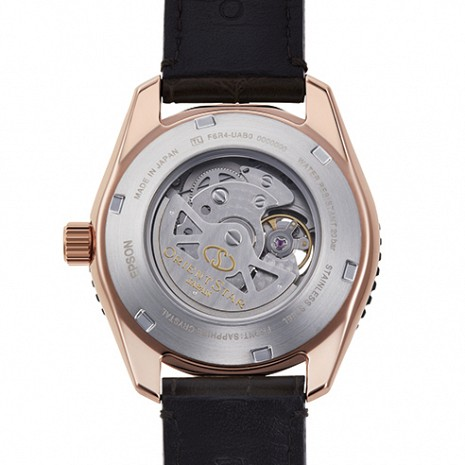 ORIENT STAR Semi Skeleton 200M Mechanical Power Reserve RE-AT0103Y