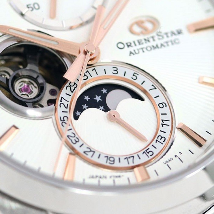 ORIENT STAR Mechanical Moon Phase RK-AY0003S